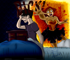 Young Justice Big Bang: Nightmares by LochCamaen