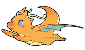 Dragonite by CookieHana