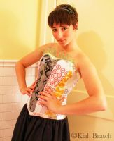 Upcycled Corset 1 by kbthreads