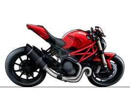 Ducati 1100 Monster Evo by Zed03
