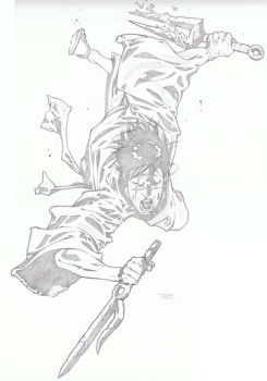 Blade of the Immortal by timothygreenII
