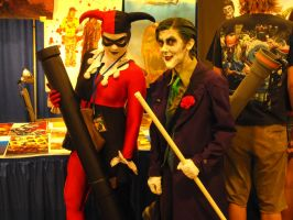 Joker and Harley Quinn by Etrigan423