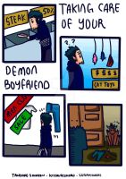 A demon boyfriend(?) - part1 by Seraphickiss
