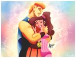 Herc And Meg by heather737