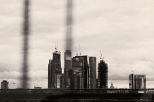 Moscow city by DinDEru
