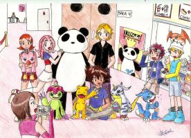 Photo of digimon and friends by umi-viera