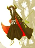 Gotei13 Lelouch Lamperouge by DarthMorlun