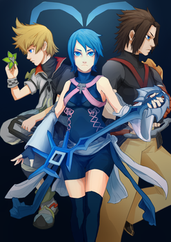 Kingdom Hearts - Birth by Sleep by tiagorcp