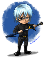 Kai: Chibi commision for Limo by Jeannette11