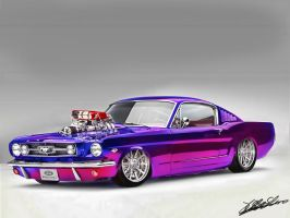 Ford Mustang by MrVendetta666