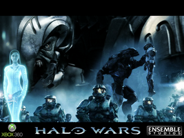 Halo wars wallpaper by PD-Black-Dragon