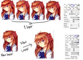 Step by Step: Hair coloring by ming-zi