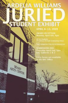 Williams Exhibit Poster '09 by jdragz