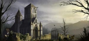 old Church by biniolthezebr