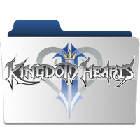 Kingdom Hearts 2 Title Folder by revenantSOULx3