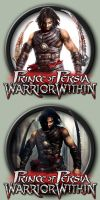 Prince of Persia: Warrior Within Icons by kodiak-caine