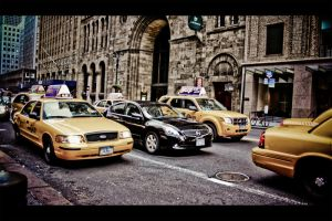 New York Cars by angstridd3n