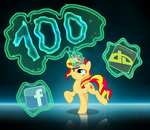 [MLP] Thanks for the first 100 watchers by Luke262