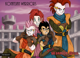 Konatsian Warriors by mayabriefs