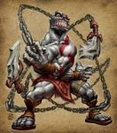 God of War Kratos DORC by peetcooper