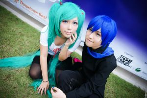 Miku x Kaito World is Mine by YukiChristy