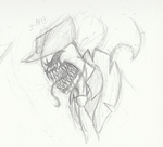 Zehndy's Rage Face Sketch by GingaAkam