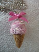 Ice-cream necklace by PinkCakes