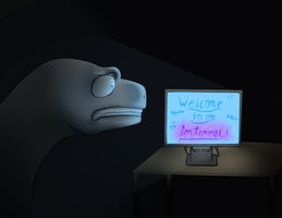 Welcome to the Internet! [Collab] by FireDragon97