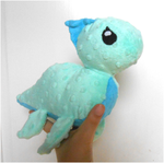 Handmade Loch Ness Monster plush by MiniSweetx