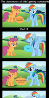 The Adventures of CMC: Getting cutiemark Part 3 by BraveMoonGirl
