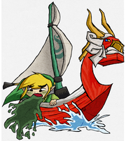 The Legend of Zelda: Sea Sickness by HyliaBeilschmidt
