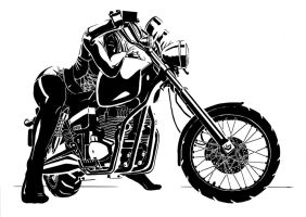 My bike by PenUser