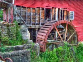 Willow Grove Mill by jim88bro