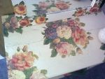 Decoupage - Table by 13th-Tale