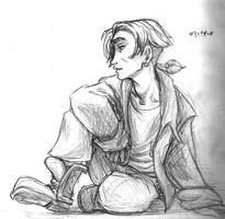 Day 4 - Jim Hawkins by murr-ma-ing