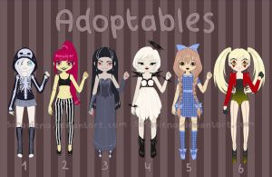 ADOPTABLES (Halloween) #2 OPEN by Siraviena
