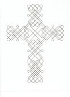Cross knotwork by rrgreg