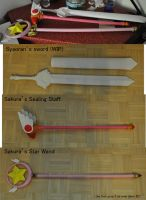 ::Card Captor Sakura::props by PunVisual