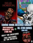 Comic Signing in El Paso Texas by Sapoman
