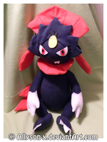 Weavile Plush by Allyson-x