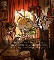 The Adventures Kylock Holmes and Stan Watson by xNoWherex