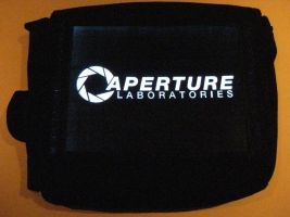 Glowing Bag - Aperture Logo by techgeekgirl