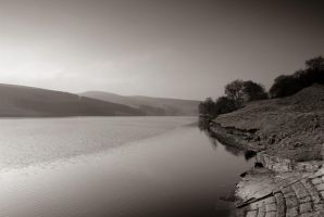 The Goyt Valley bw by horai