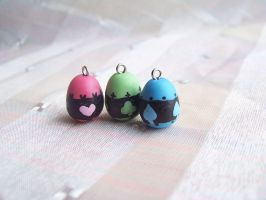 Shugo Chara eggs by CuteTanpopo