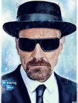 Breaking Bad - Heisenberg by p1xer