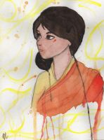 Adult Jinora by bealor