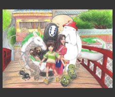 Spirited Away Strangeness by airinia