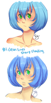 coloring style comparison by shaharaj