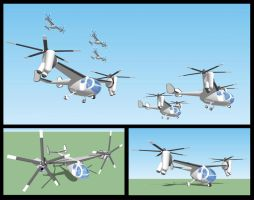 Small Tilt-Rotor Concept by bassfiend