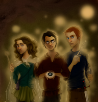 Deathly Hallows Collab by joshcmartin